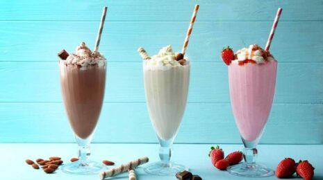молочные коктейли без мороженого