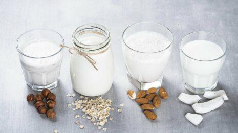 смузи с растительным молоком