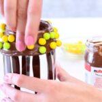 шаг 1 нутелла и конфеты