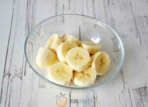 Банан нарезать
