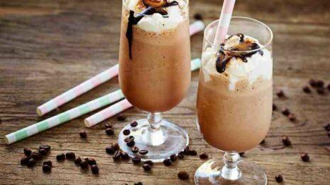 молочно шоколадный коктейль