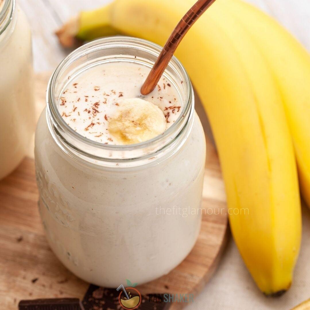 банановый смузи с тахини