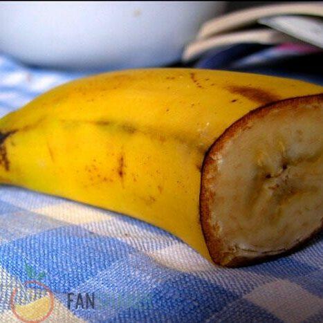 половинка банана