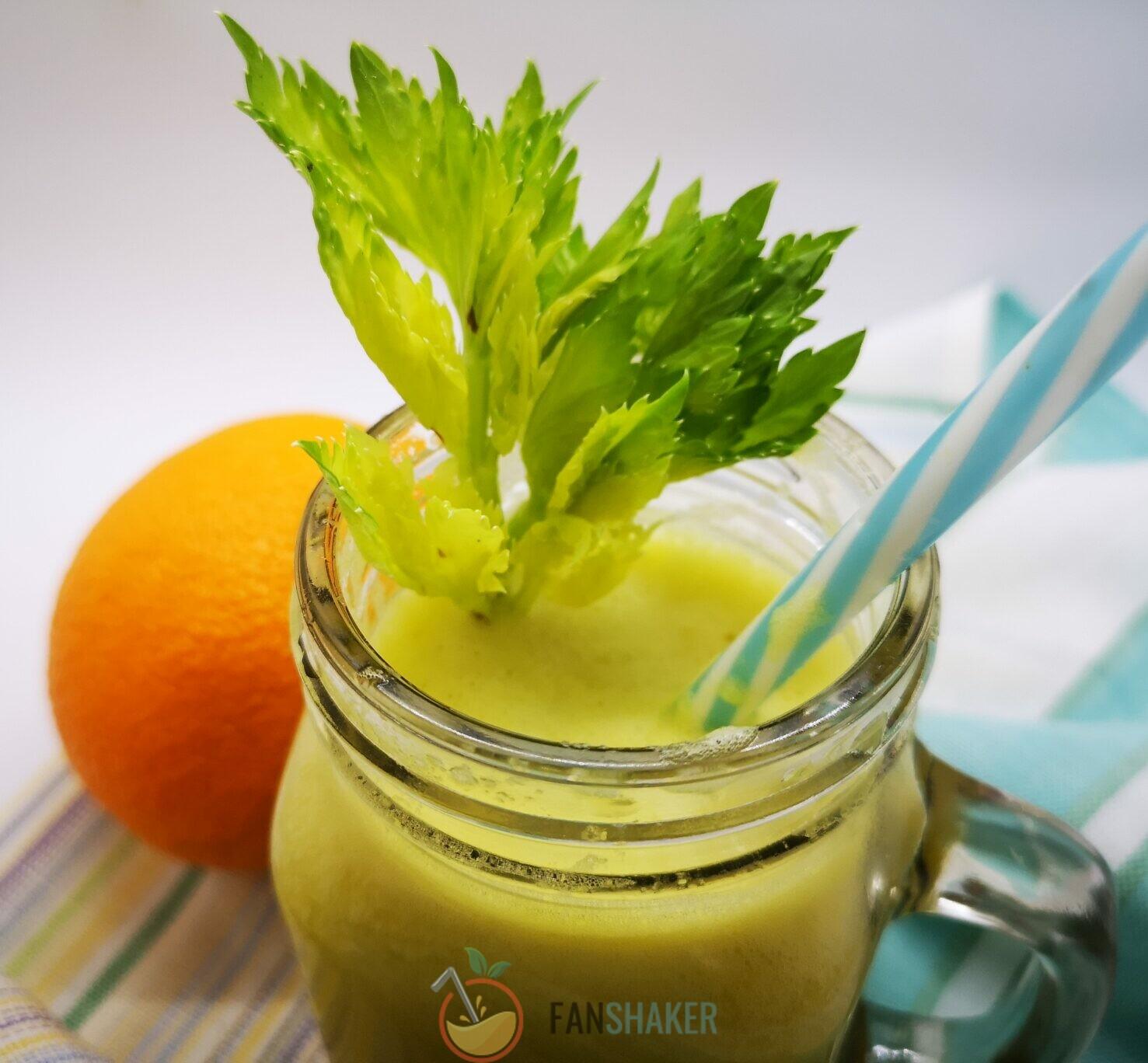 смузи сельдерей с апельсином