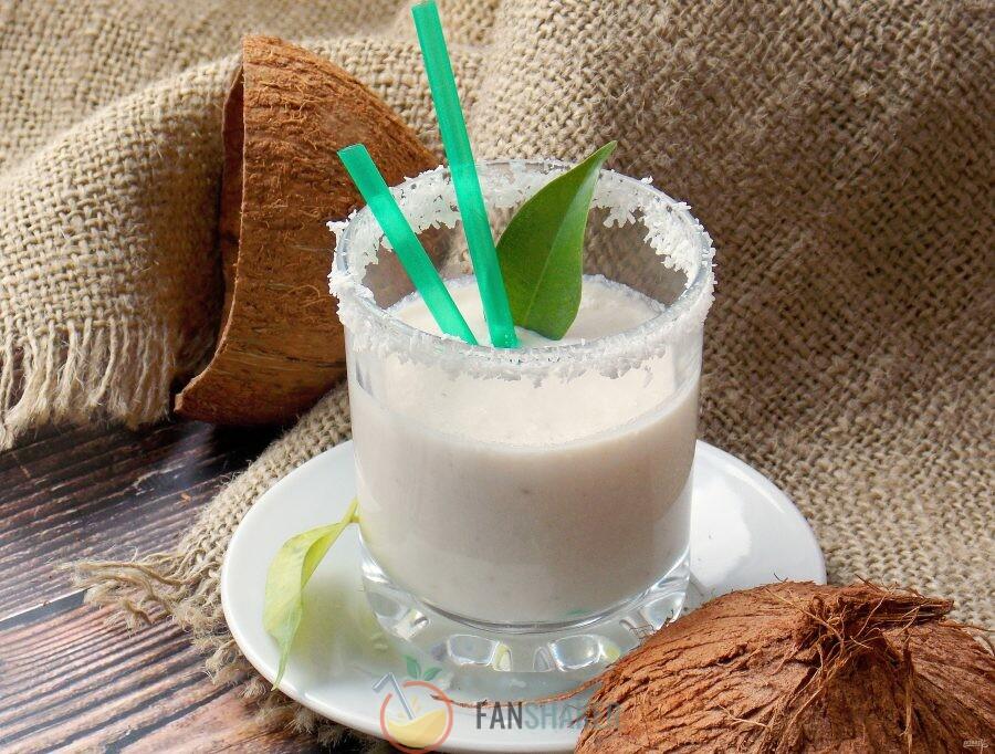 С мякотью кокоса